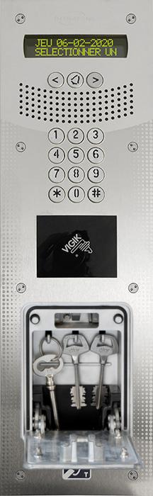 Intratone V4 med nøgleboks GSM Videodørtelefon