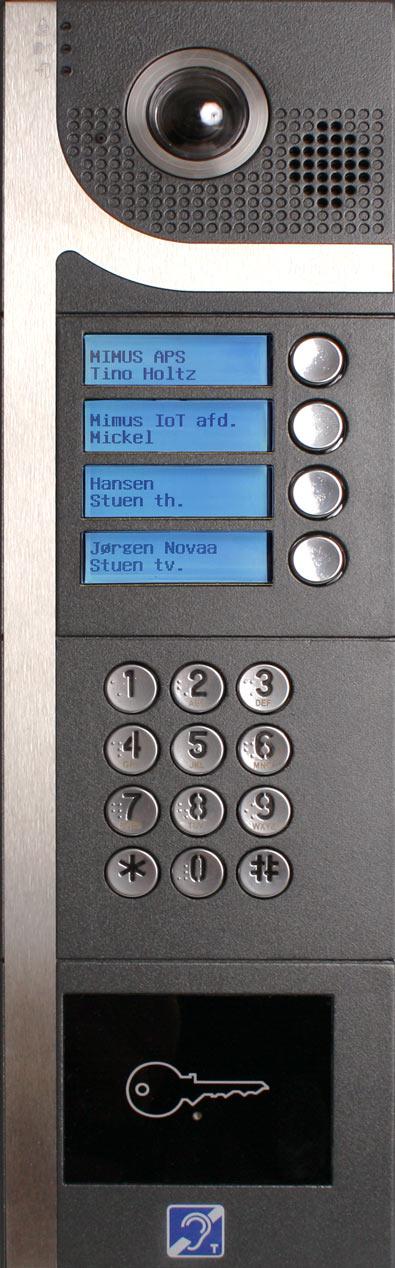 Intratone DINA GSM videodørtelefon