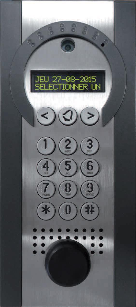 Intratone RENO GSM Videodørtelefon