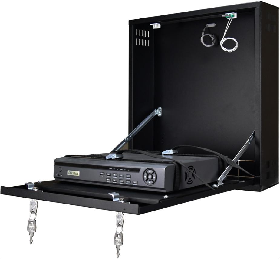 Monteringsskab til harddiskoptager DVR/NVR